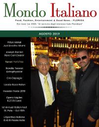 Mondo Italiano Newspaper - Minnesota's Italian Cultural Publication 1999 till 2001